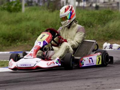 Cearenses iniciam atividades na Copa Brasil de Kart