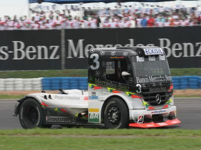 Piquet quer iniciar nova na Fórmula Truck fase em Cascavel