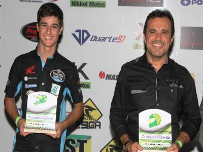 José Duarte é homenageado pela Federação de Motociclismo do Ceará