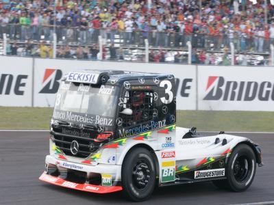Piquet e Cirino são os destaques da Fórmula Truck em Cascavel