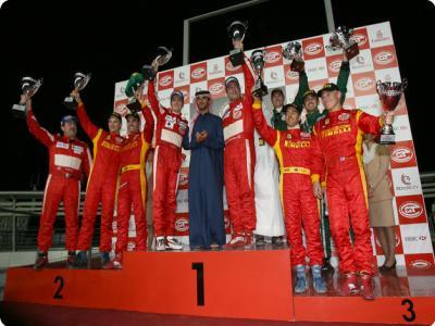 Jaime Melo encerra temporada com 2º lugar em Dubai