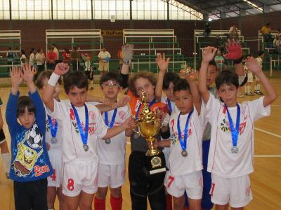 Comercial é vice-campeão da Taça Paraná de Futsal