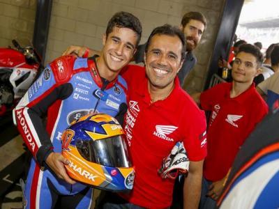 Duarte celebra terceiro lugar na SuperSport 600cc