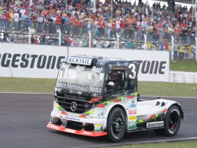 Piquet quer pódio na 7ª etapa da Fórmula Truck em Curitiba