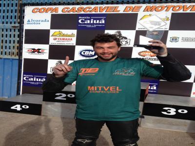 Copa Paraná/Sul de Motovelocidade começa com vitória de cascavelenses