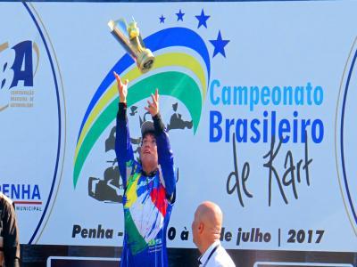 Corbellini é confirmado como campeão Brasileiro de Kart