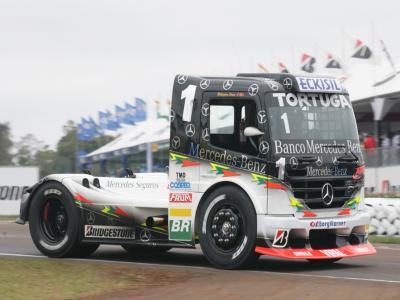Começam amanhã os treinos da Fórmula Truck em Curitiba