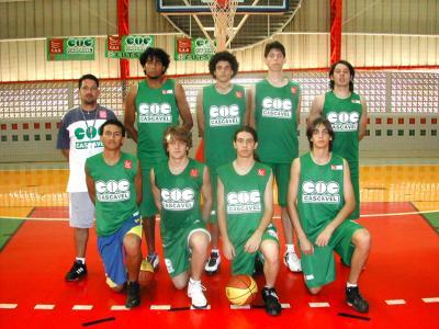 Basquete de Cascavel representa o PR nas Olimpíadas Escolares