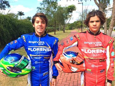 Gêmeos Fliter disputam Brasileiro com objetivo na F3 Academy