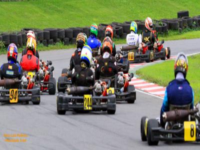 Belas disputas marcaram a 3ª etapa do Carioca de Kart