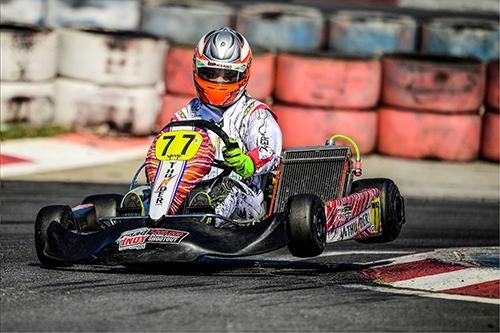 Cearense comemora pódio no Open do Brasileiro de Kart