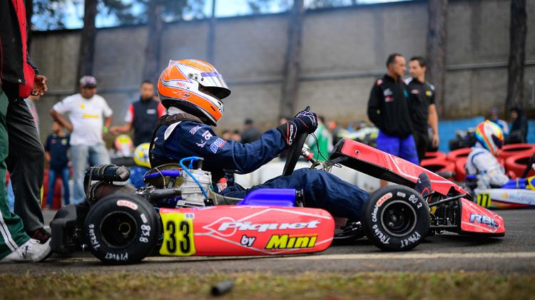 Rodrigo Piquet busca o título da Codasur no Brasileiro de Kart