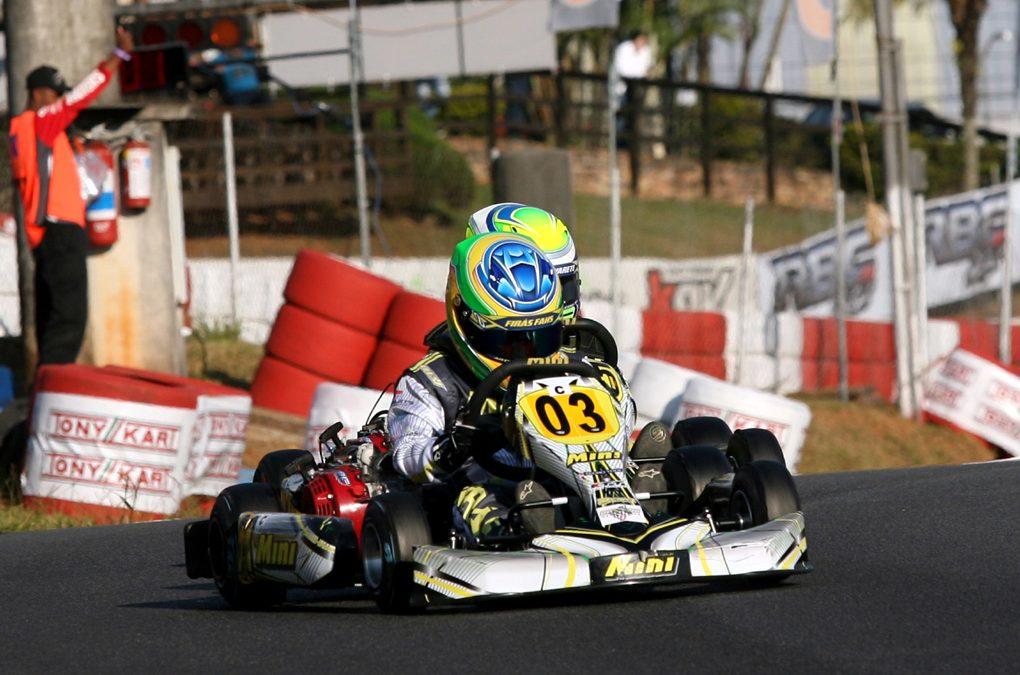 Firás é o melhor paranaense daCadete no Brasileiro de Kart