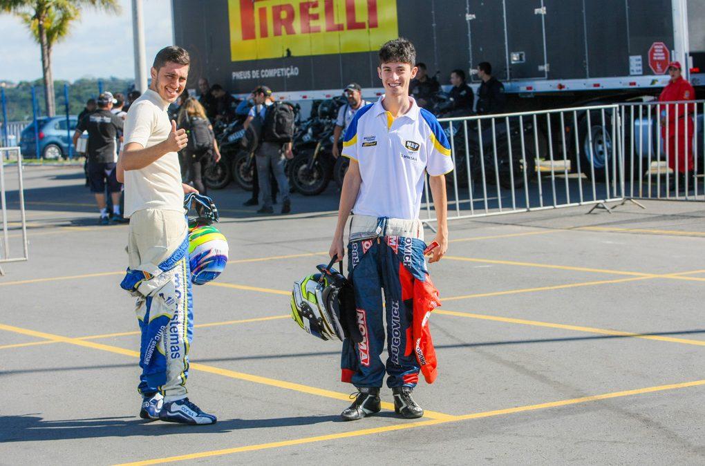 Myasava e Edson Coelho voltam a ser parceiros na equipe MRF Racing