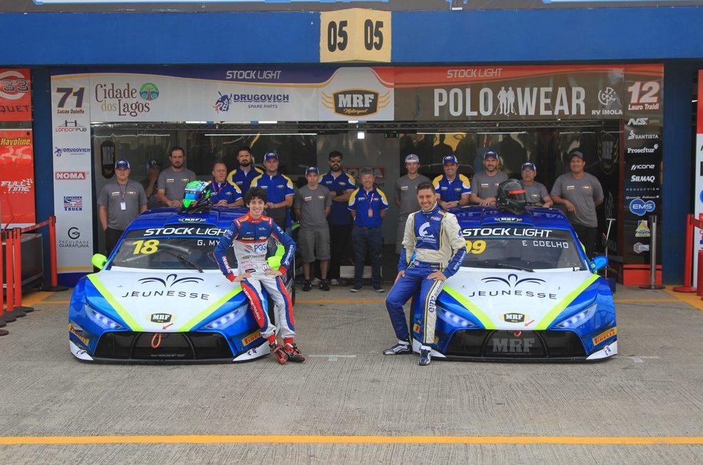Edson Coelho reetreia na MRF Racing com o melhor tempo da Stock Light em Goiânia