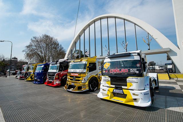 Duda Bana conquista um nono lugar na Copa Truck em Buenos Aires