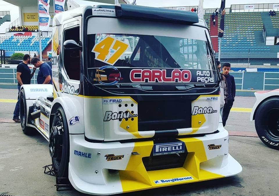 Duda Bana quer pontuar nas duas provas da Copa Truck no Uruguai