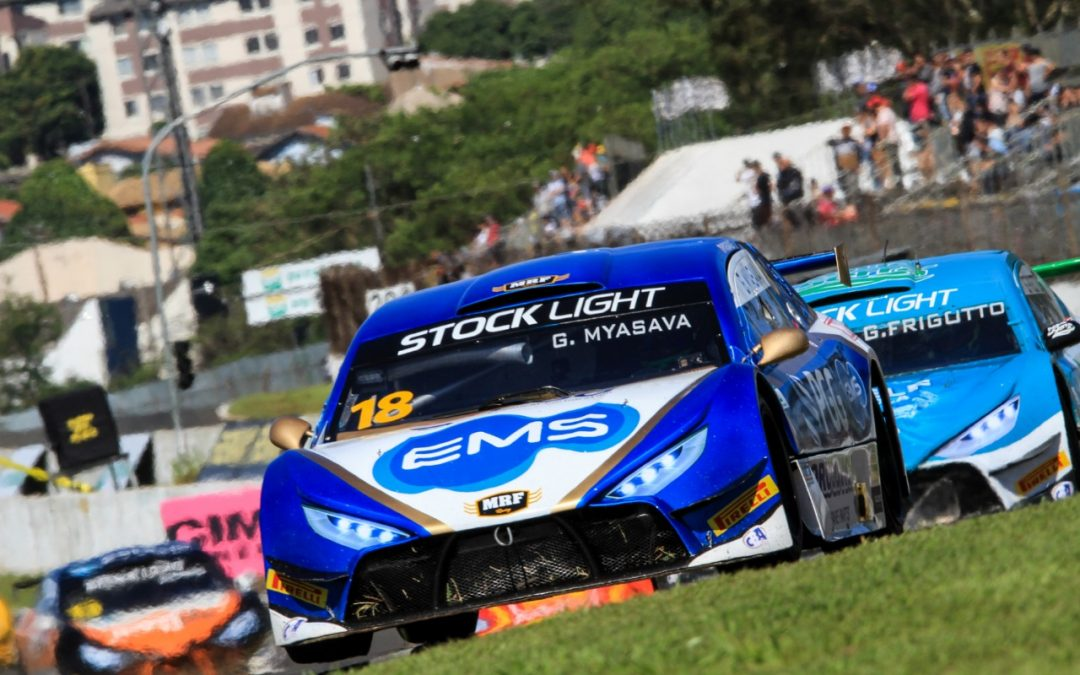 Gustavo Myasava pontua na rodada dupla da Stock Light em Londrina