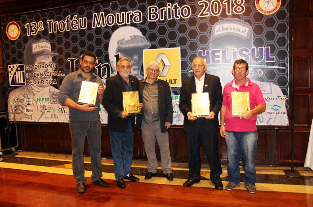 Rubens Gatti, Lagarto, Voigt e Ebbers são os premiados do Troféu Moura Brito