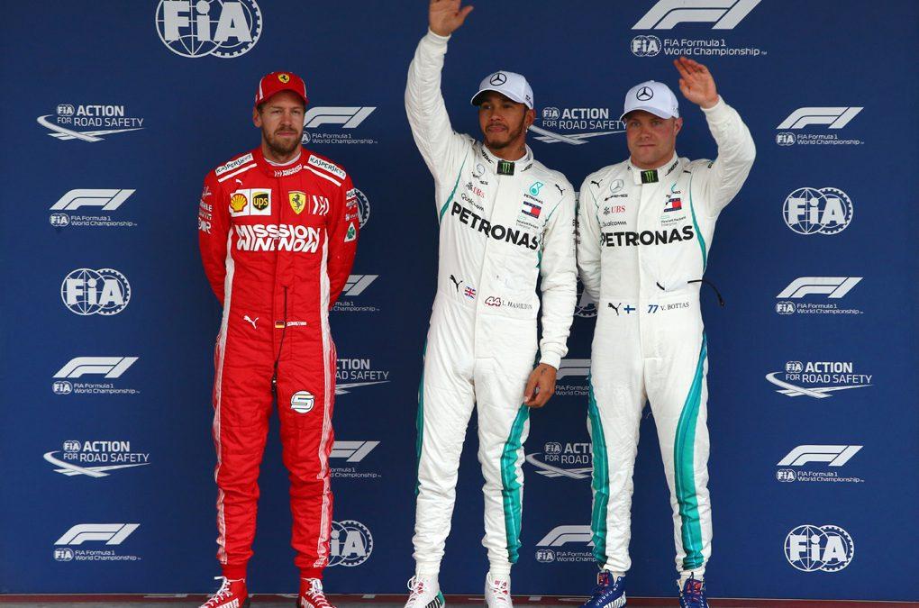 Lewis Hamilton será o pole position do GP Brasil de Fórmula 1