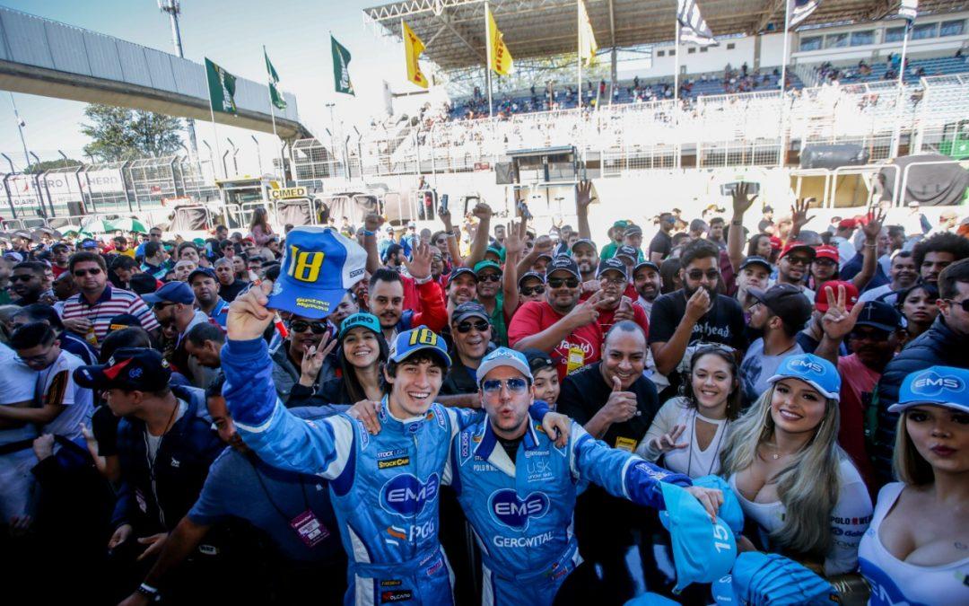Temporada da Stock Light foi positiva para Gustavo Myasava e Leonardo Sanchez