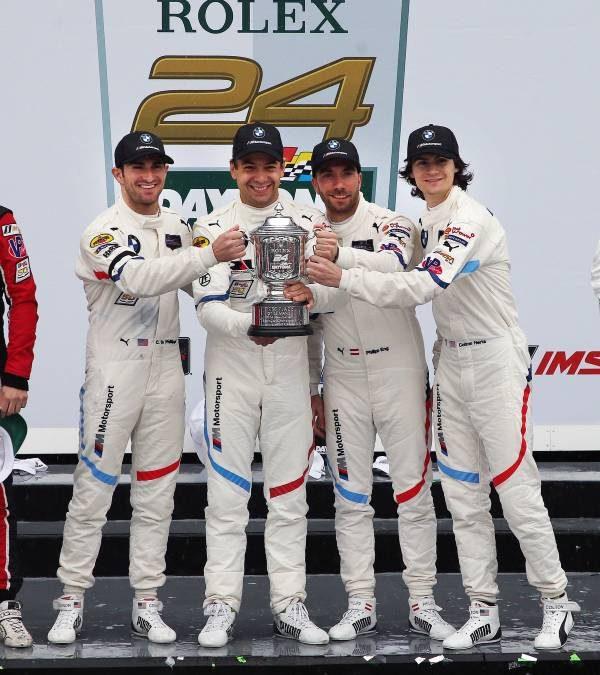 Paranaense Augusto Farfus é campeão da categoria GTLM nas 24 Horas de Daytona
