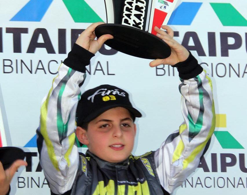 Firás Fahs tem rápida adaptação ao circuito do Kartódromo de Cascavel