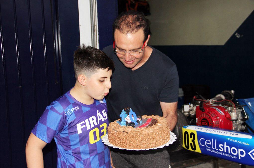 Firás Fahs comemora aniversário com pódio no Metropolitano de Cascavel