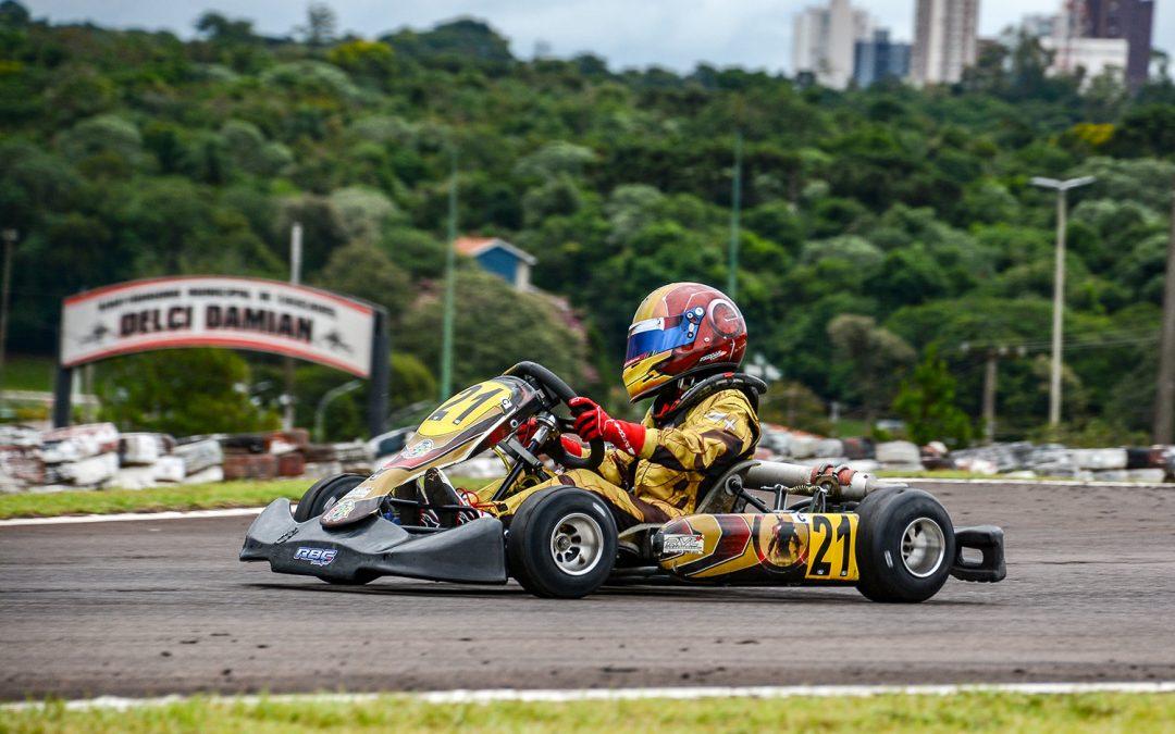 Romullo Ribas volta a Cascavel para a 2ª etapa do Metropolitano de Kart