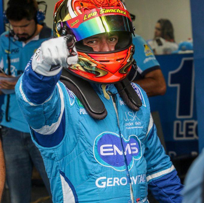 Leonardo Sanchez está confiante para a primeira corrida em Goiânia