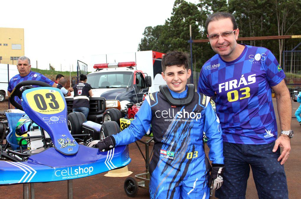 Para Firás Fahs, Open é o grande teste para o Brasileiro de Kart
