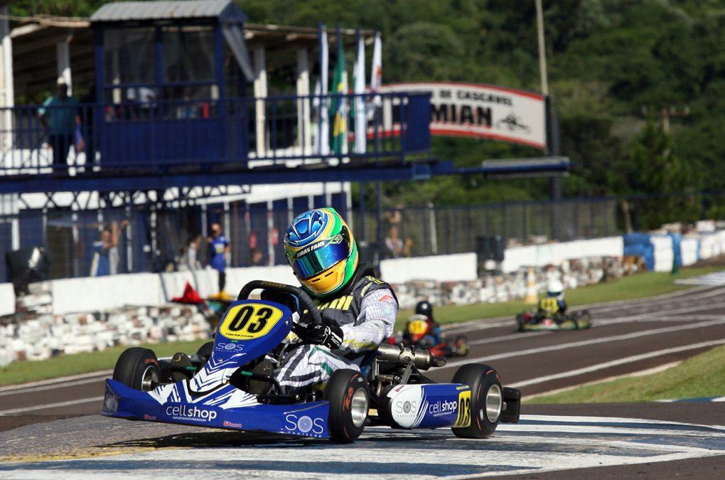 Provas tiram Firás Fahs da 2ª etapa do Sul-Brasileiro de Kart