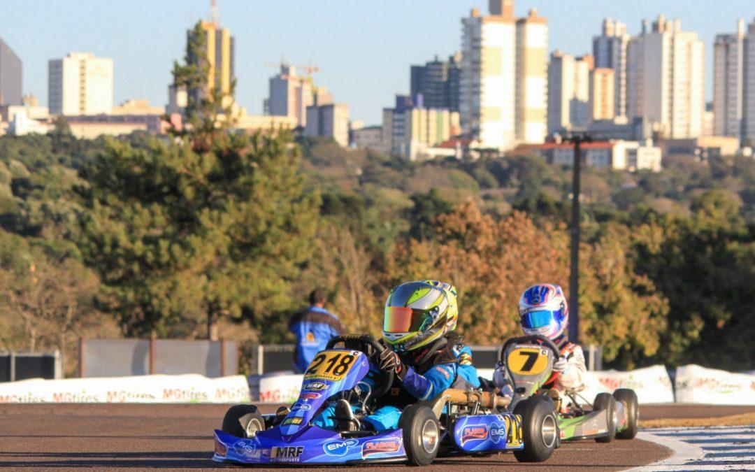 Brasileiro de Kart tem fato inusitado na categoria Cadete em Cascavel