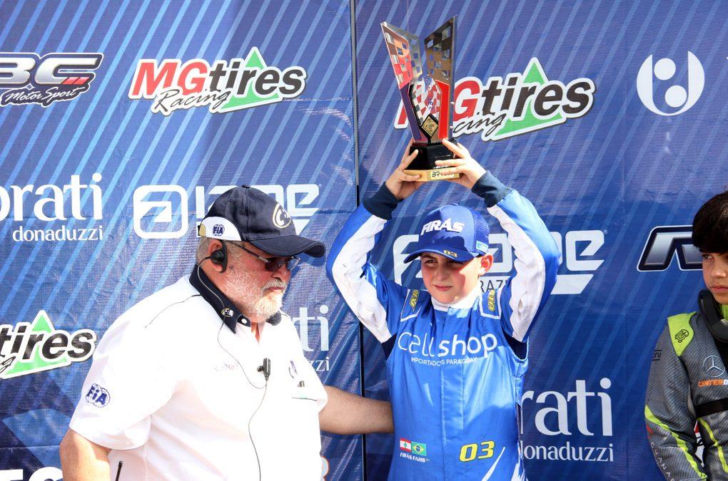 Firás Fahs conquista o 4º lugar da Cadete no Brasileiro de Kart