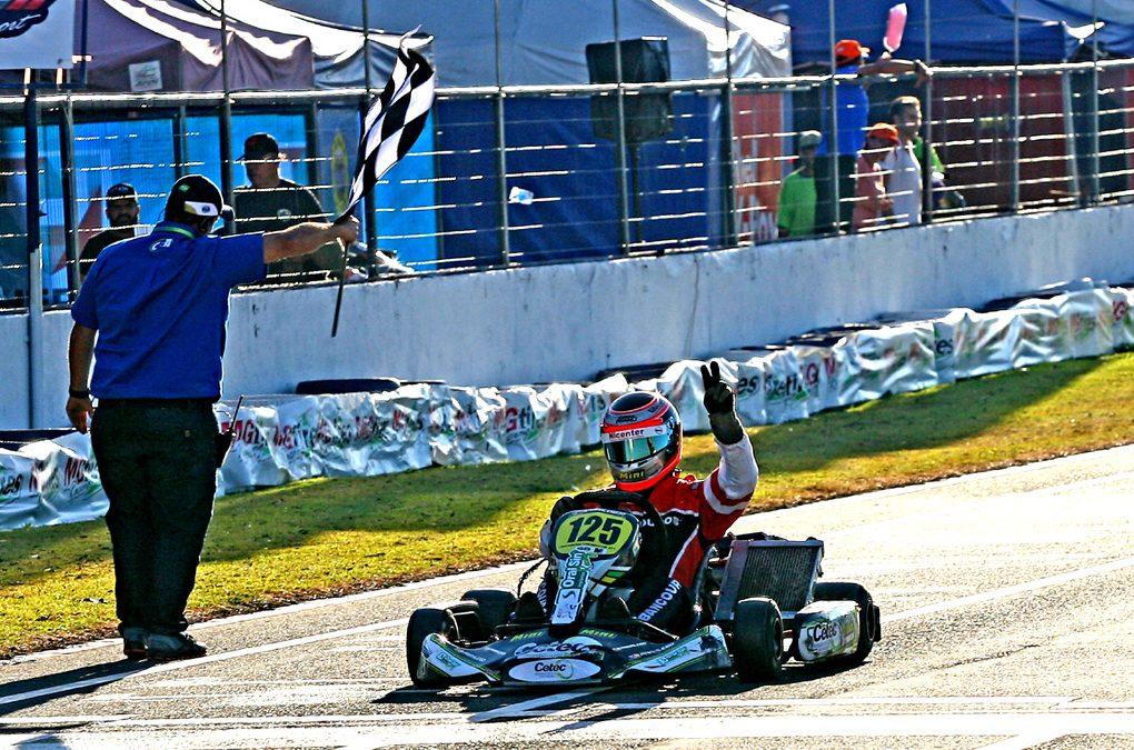 Paraná é o maior vencedor do Brasileiro de Kart em Cascavel