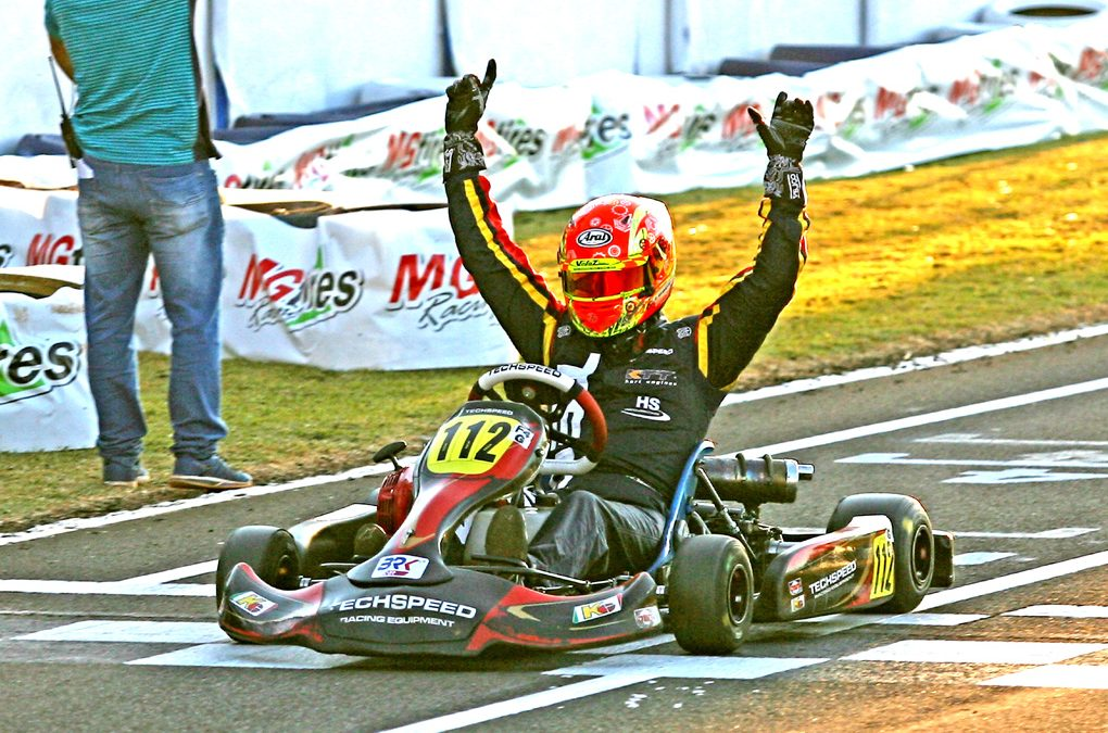 Paraná faz três campeões na 1ª fase do Brasileiro de Kart