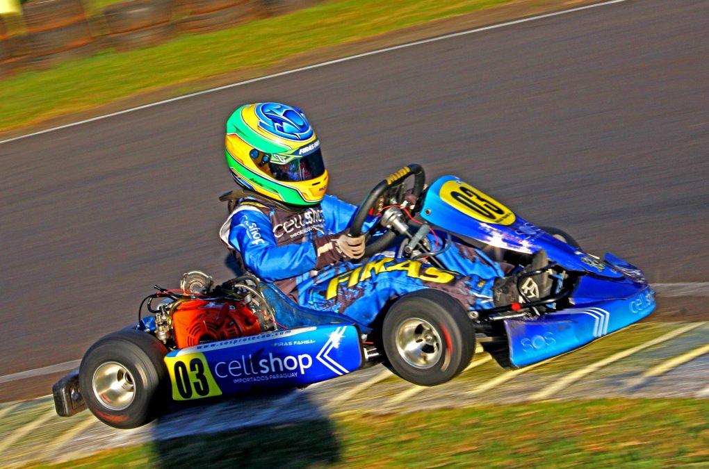 Firás Fahs inicia preparação para a Copa Brasil de Kart