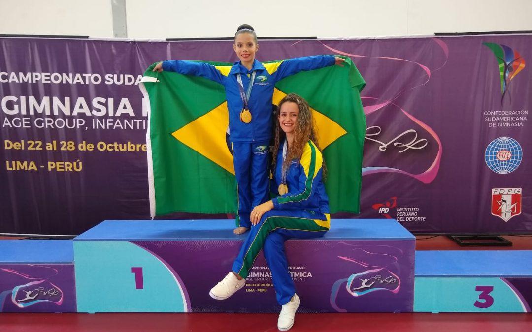 Cascavelense é campeã sul-americana de ginástica no Peru
