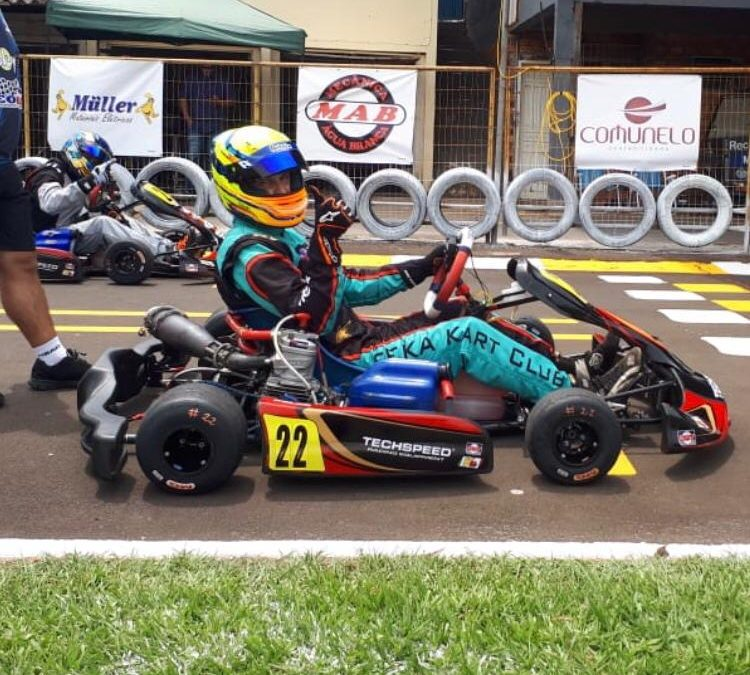 Eduardo Muller vence a final da Copa Sudoeste de Kart