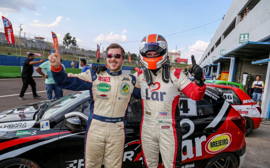 Gabriel Correa e Daniel Kaefer largam na pole position na Cascavel de Ouro