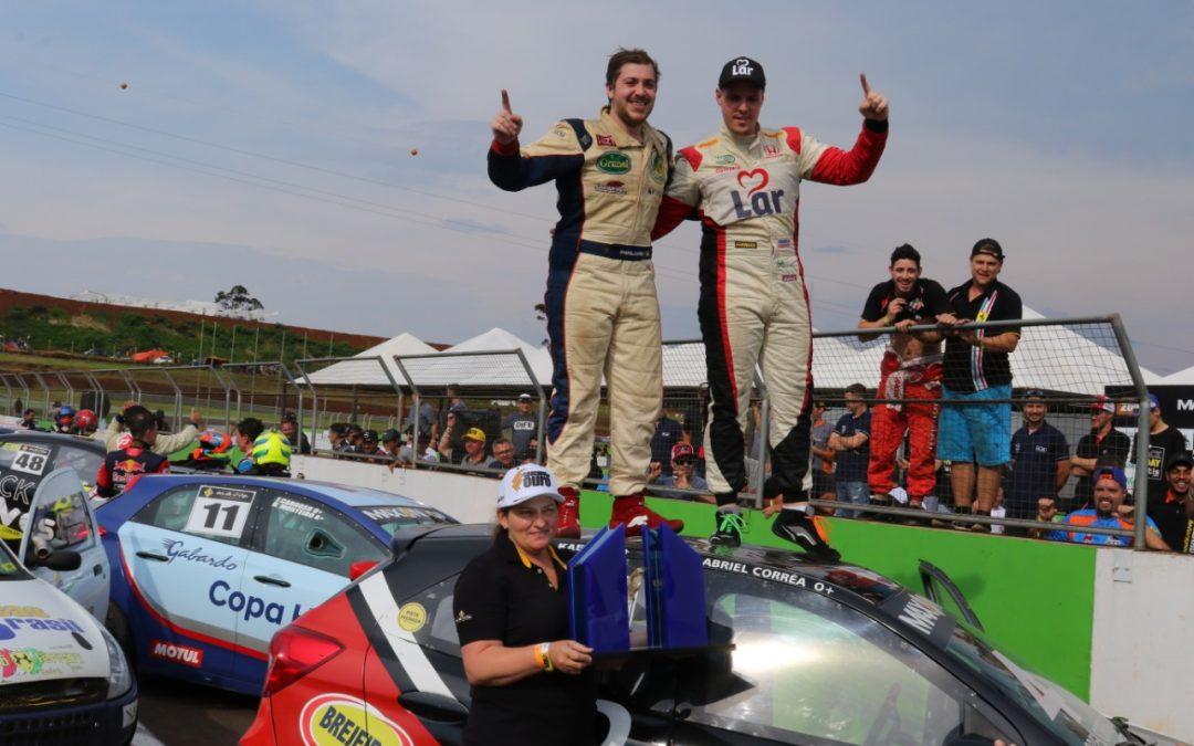 Gabriel Correa e Daniel Kaefer vencem a Cascavel de Ouro