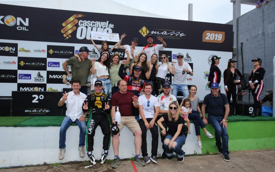 Toledanos comemoram o 3º lugar na Cascavel de Ouro