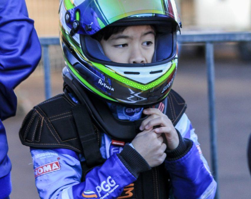 Akyu Myasava vive a expectativa da estreia na categoria Júnior Menor
