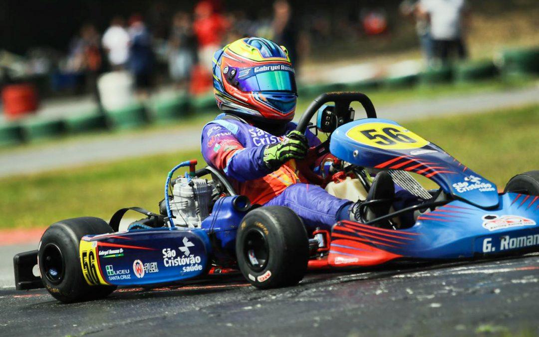 Gabryel Romano viverá temporada de novos desafios no kart