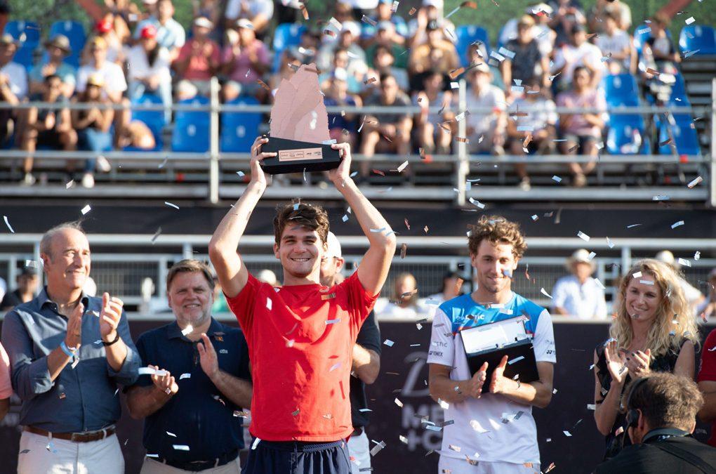 Thiago Wild, de Marecal C. Rondon, faz história, e é campeão de tênis no Chile