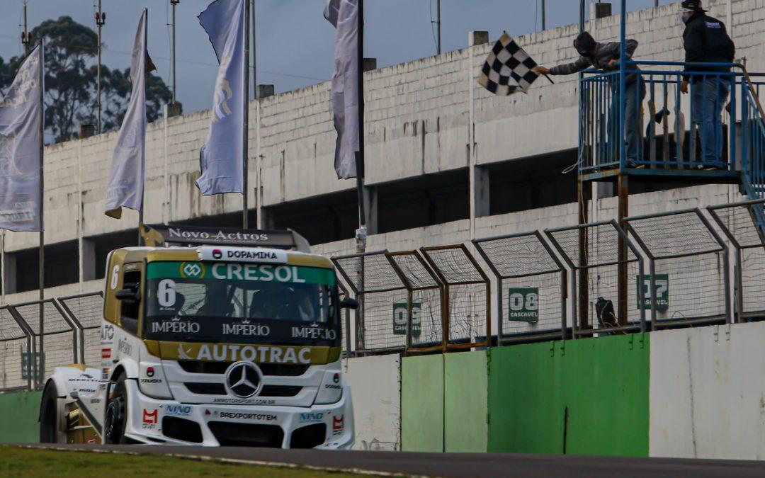 Temporada da Copa Truck começa com vitória de Cirino e domínio da Mercedes-Benz