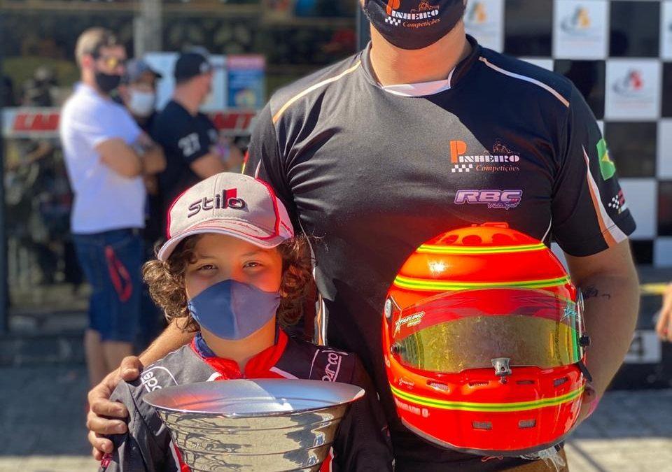 Christian Mosimann vai ao pódio na Copa São Paulo Light de Kart