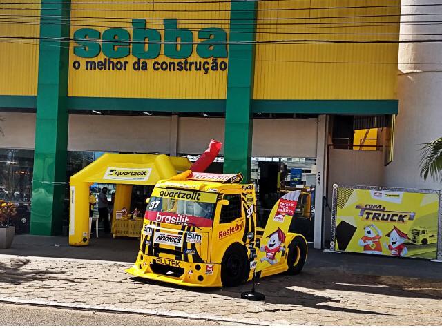 FF Motorsport começa maratona da Copa Truck com ações promocionais