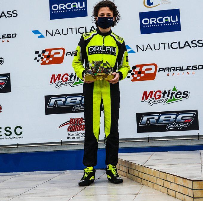 Ibiapina é vice-campeão da categoria Júnior Menor no Sul-Brasileiro de Kart