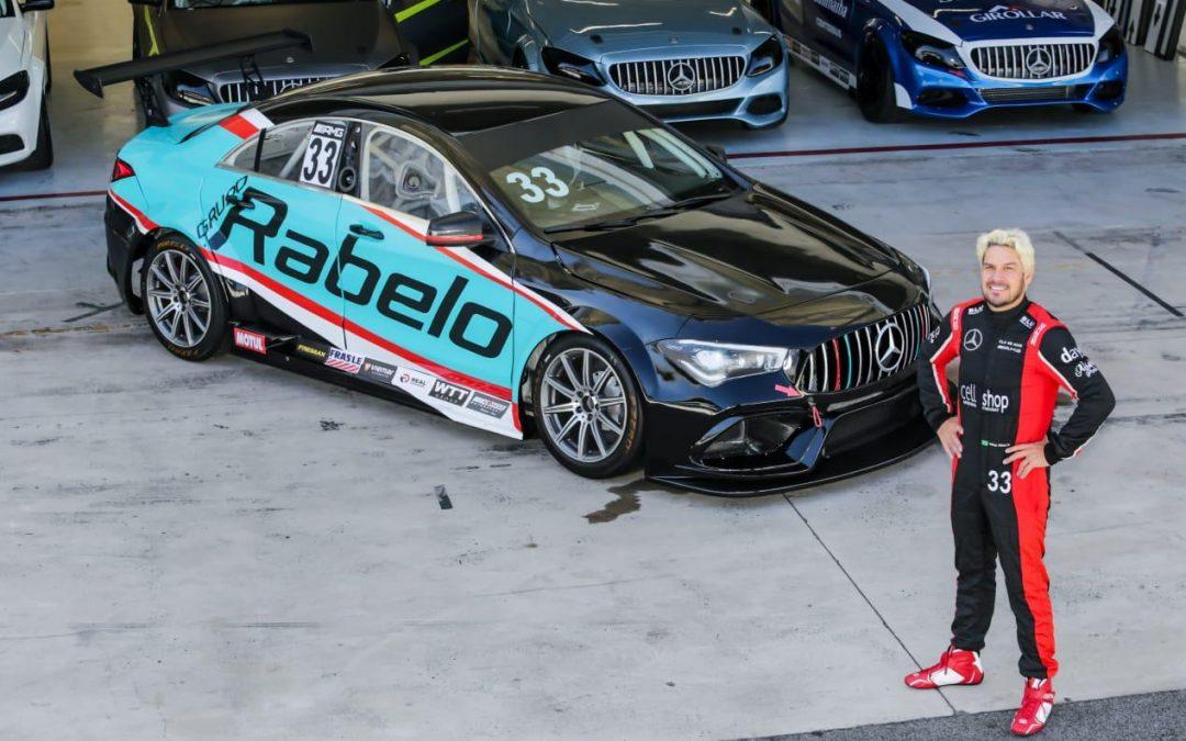 Largando da quarta fila, cearense Adriano Rabelo vai em busca de corrida de recuperação